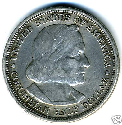 Columbian Exposition Half Dollar