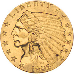 Indian Head Quarter Eagle