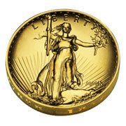 2009 ultra high relief St. Gaudens gold coin